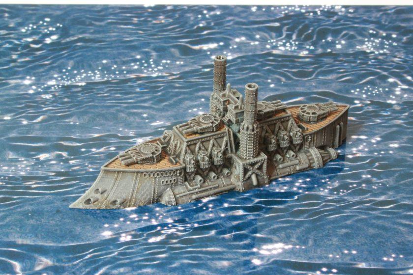 HMS Richard III Ruler Class Battleship