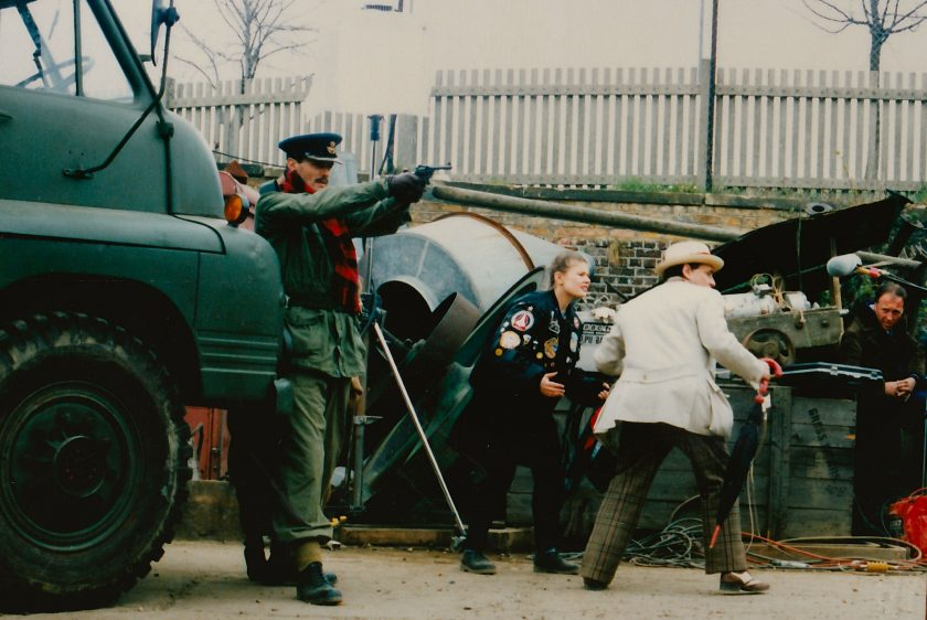 Filming Remembrance on location