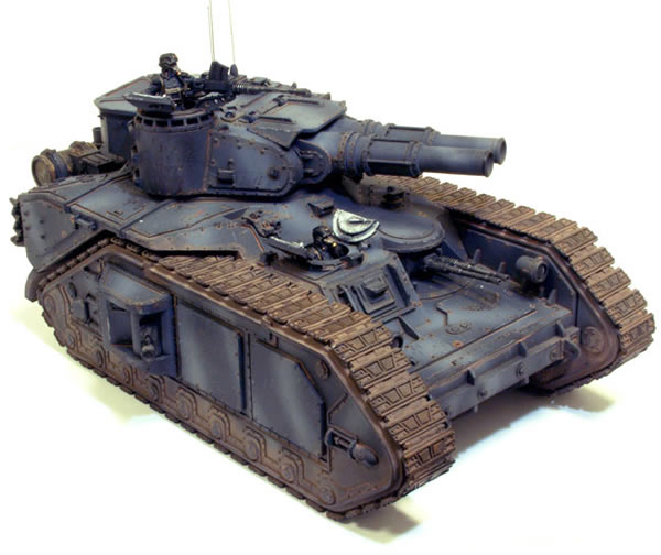 The Imperial Guard Lucius pattern Macharius Heavy tank