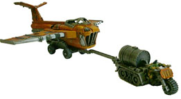Ork Aircraft Traktor and Launch Trolley