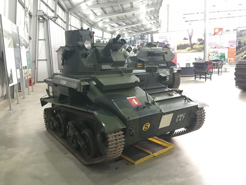 Vickers Mk VIA Light Tank