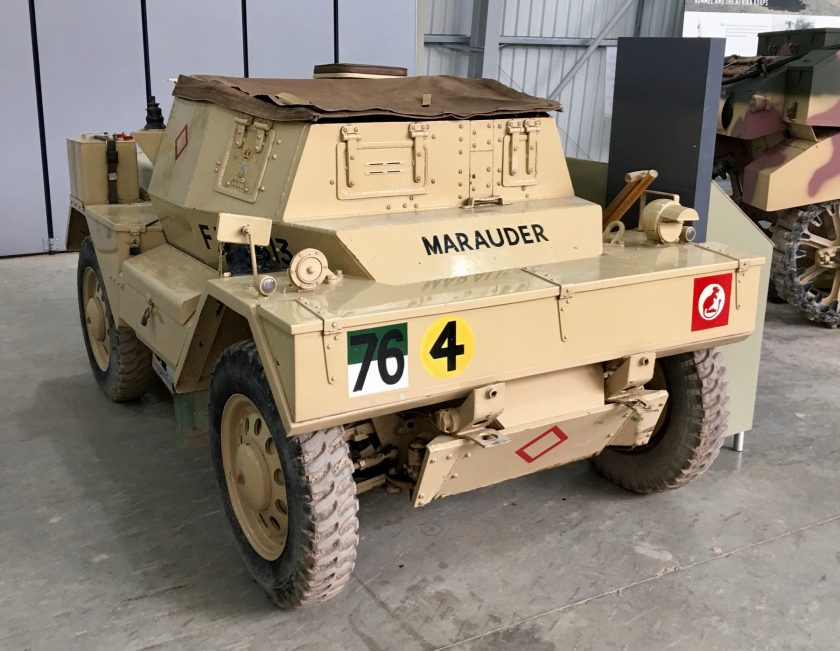 Daimler Dingo Scout Car Mark II