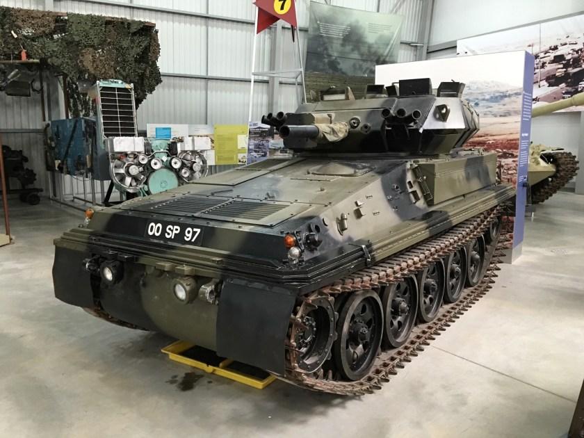 Alvis FV1010 Scorpion CRV(T) at the tank museum at Bovington