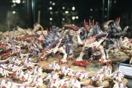 Tyranid Maleceptors at Warhammer World