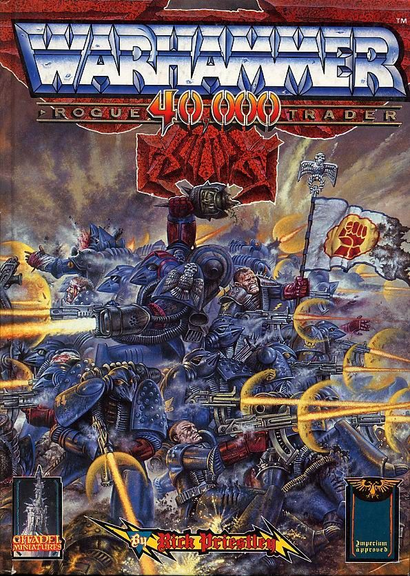 Warhammer 40000 rulebook cover