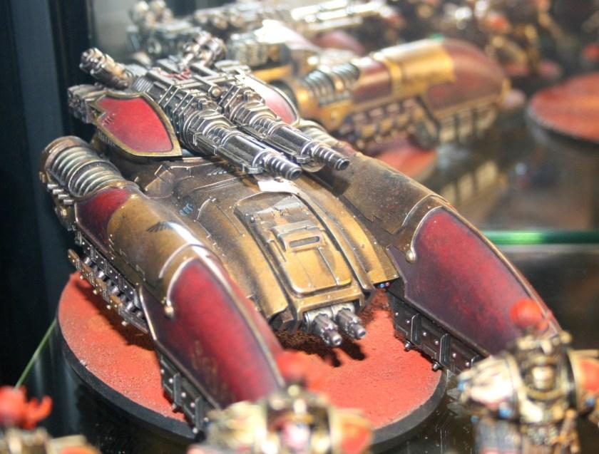 Legio Custodes Caladius Grav-Tank Annihilator