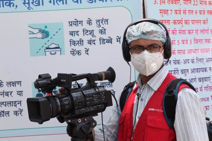south asia india coronavirus journalist getty