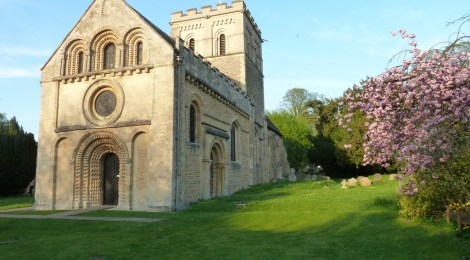 Evening light on St Mary's Iffley
