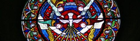 Eye of God window