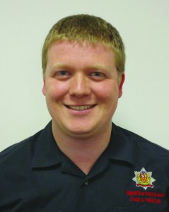 Robert Stacey is Project Officer with Northumberland Fire and Rescue Service