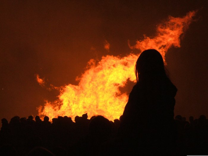 Bonfire Night was busy for Scotland's Firefighters