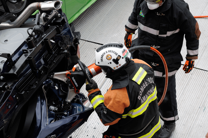 Holmatro's first Extrication Challenge at Interschutz 2015 - IFF