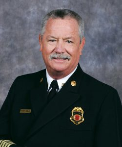 Chief Harry Beck, of the Mesa Fire and Medical Department in Mesa, Arizona