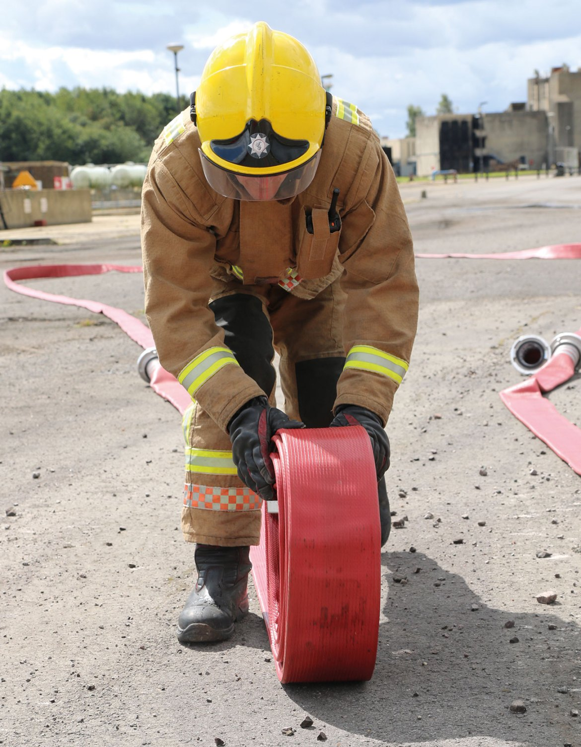 MSA Bristol's XFlex structural firefighting PPE with Gallet F1 XF helmet.