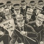 "William Jennings Bryan campaign poster, ""Shall the People Rule?"" (circa 1900)"