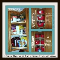 Lazy Susan Kitchen Cabinet Organization: Tips & Tricks (On ...