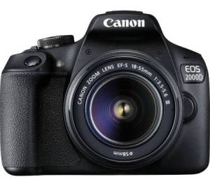 Canon EOS 2000D - The best DSLR camera for beginner filmmakers