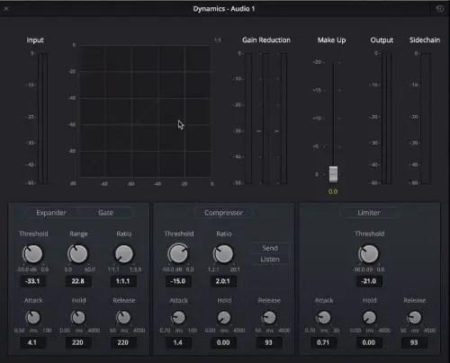 Dynamics - Audio