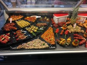 MeatUp display