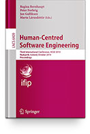Human-Centered Software Enrineering (3rd IFP WG 13.2 International Conference) Book