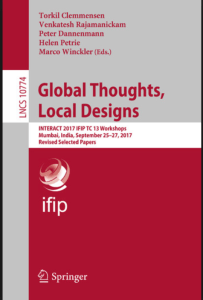 Global Thoughts, Local Designs, Lecture Notes in Computer Science