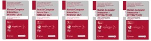 thumbnails of INTERACT 2021 cover proceedings
