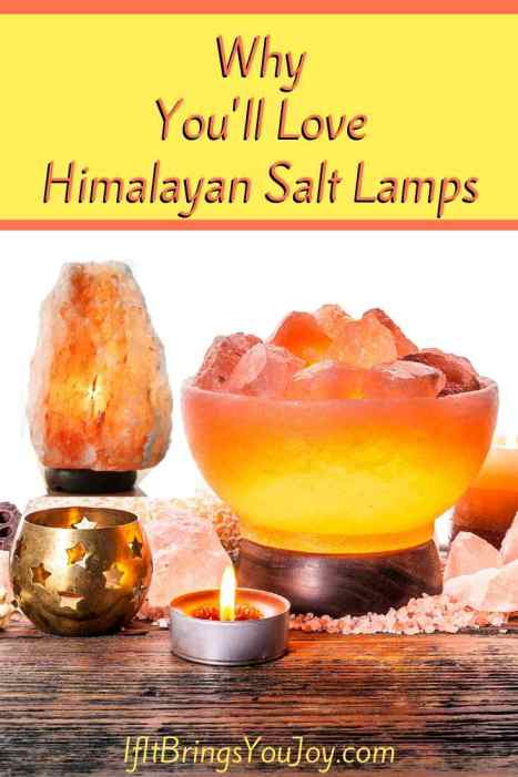 Different styles of Himalayan Salt Lamps