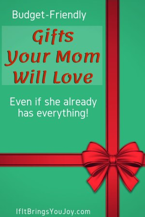 Gift wrapped for mom width=