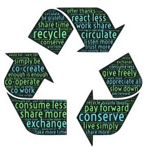 Reduce, reuse, and recycle!