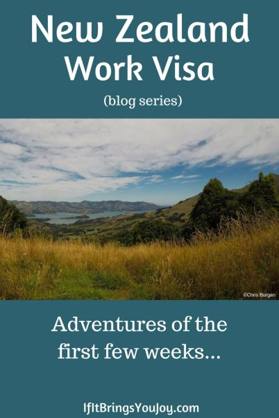 A young American in New Zealand with a work visa. Read about his first few weeks as he is anxious to explore, yet needs to figure out basic necessities. Amazing photos!