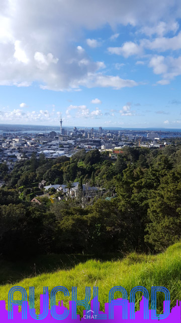 The city of Auckland, New Zealand