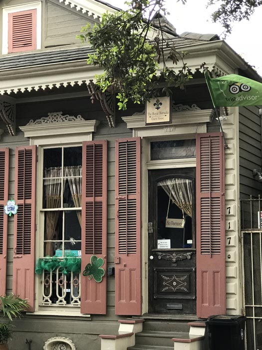 Charming guest house in New Orleans