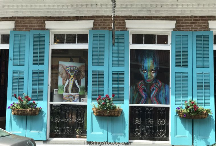 Gorgeous architectural art shop in New Orleans