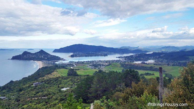 Overlooking Coramandel, NZ