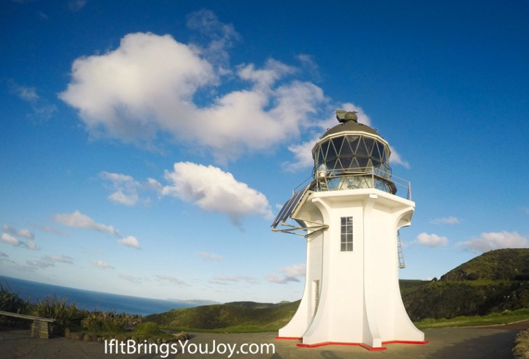 Cape Reinga Lighthouse in Cape Reinga, New Zealand