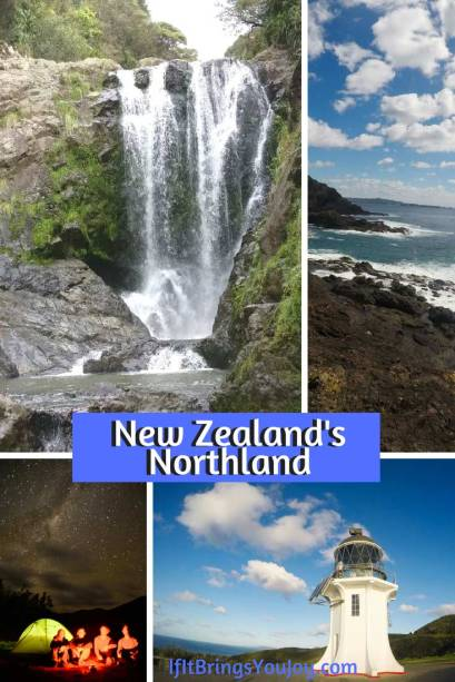 Various iconic locations in the Northland of New Zealand.