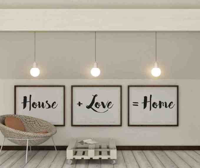 Painted home decor