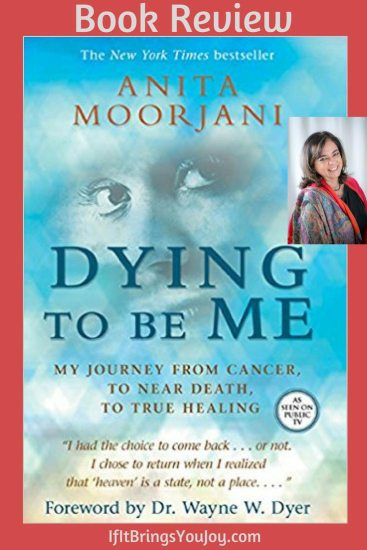 Book cover of Dying To Be Me with author Anita Moorjani