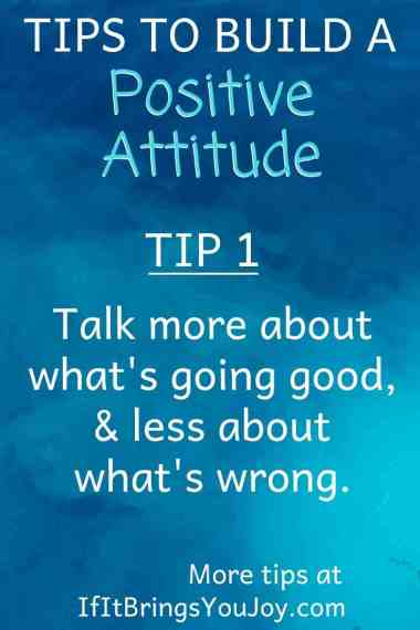 Quote about building a positive attitude