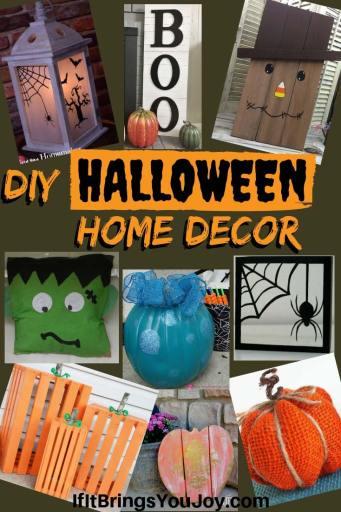 DIY Halloween Home Decorations