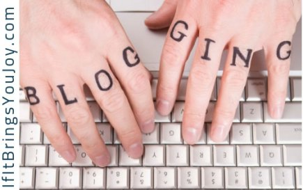 Blogging is fun! Learn how blogging might bring you joy. #blogging #writing