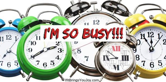 Why is Everyone So Busy? (and how to ease overwhelm)