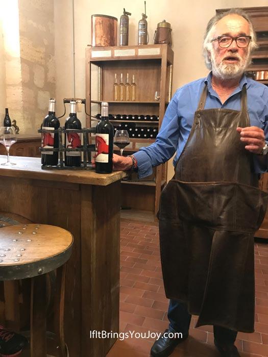 Wine instructor