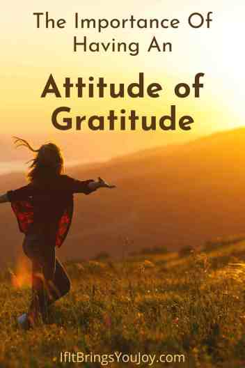 Woman filled with gratitude