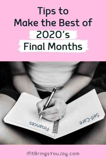 Woman writing goals