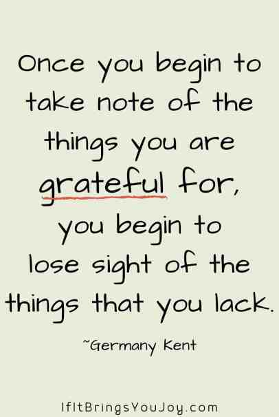 Quote by Germany Kent about gratitude