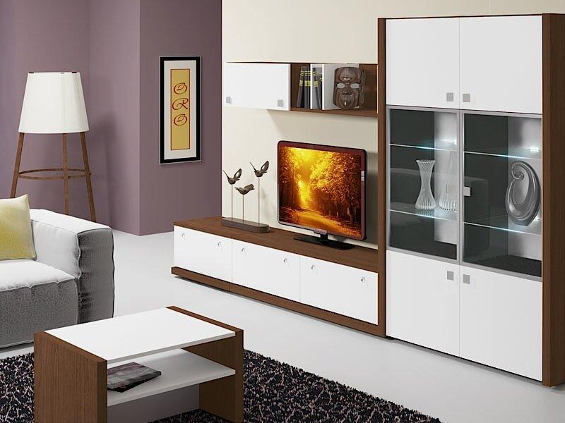 Современная модульная стенка в гостиную, как подобрать