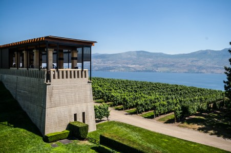 View of the Okanagan from Mission Hill Estates