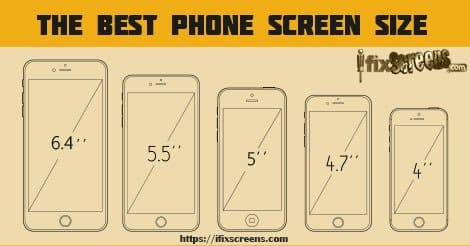 smartphone screen sizes