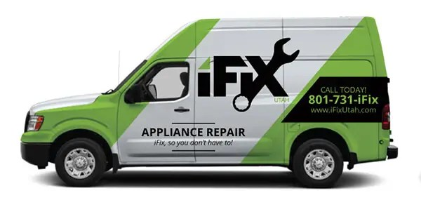 iFix Appliance Repair Truck in Ogden, Utah